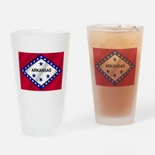 Arkansas State Flag Drinking Glass
