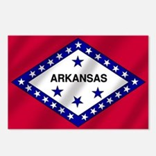Arkansas State Flag Postcards (Package of 8)
