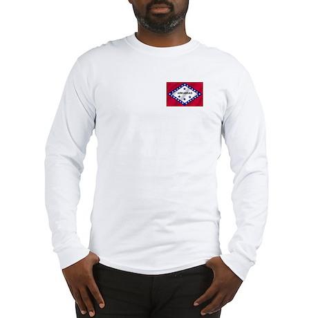 Arkansas State Flag Long Sleeve T-Shirt