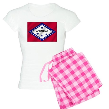 Arkansas State Flag Women's Light Pajamas