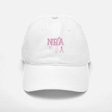 NRA initials, Pink Ribbon, Baseball Baseball Cap