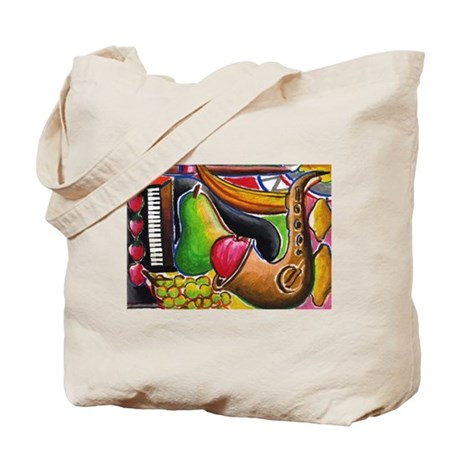 Jazz and Dessert Tote Bag