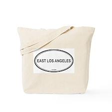 East Los Angeles oval Tote Bag