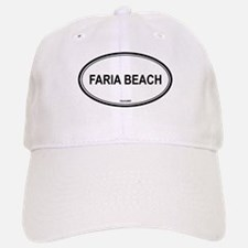 Faria Beach oval Baseball Baseball Cap