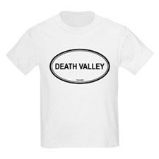 Death Valley oval Kids T-Shirt