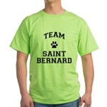 Team Saint Bernard Green T-Shirt