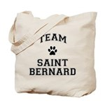Team Saint Bernard Tote Bag