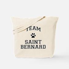Team Saint Bernard Tote Bag