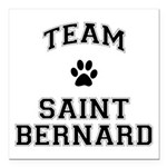Team Saint Bernard Square Car Magnet 3