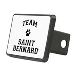 Team Saint Bernard Rectangular Hitch Cover