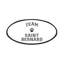 Team Saint Bernard Patches