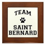 Team Saint Bernard Framed Tile