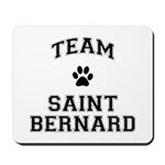 Team Saint Bernard Mousepad
