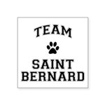 Team Saint Bernard Square Sticker 3