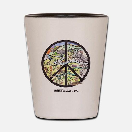 cafe press final draft.JPG Shot Glass