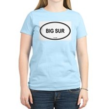 Big Sur oval Women's Pink T-Shirt