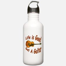 Life Is Good Got A Guitar Water Bottle