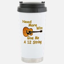 Give Me A 12 String Stainless Steel Travel Mug