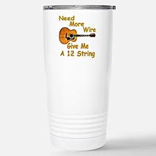 Give Me A 12 String Travel Mug