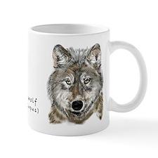 Gray Wolf Regular Mug