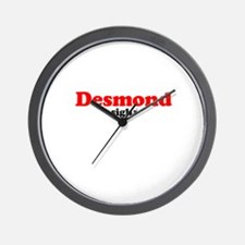 lost Desmond Penny Wall Clock