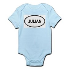 Julian oval Infant Creeper