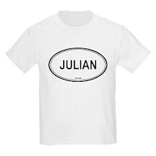 Julian oval Kids T-Shirt
