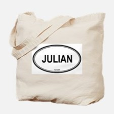 Julian oval Tote Bag