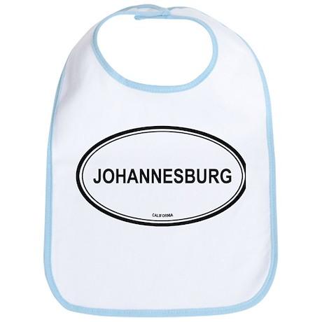 Johannesburg oval Bib