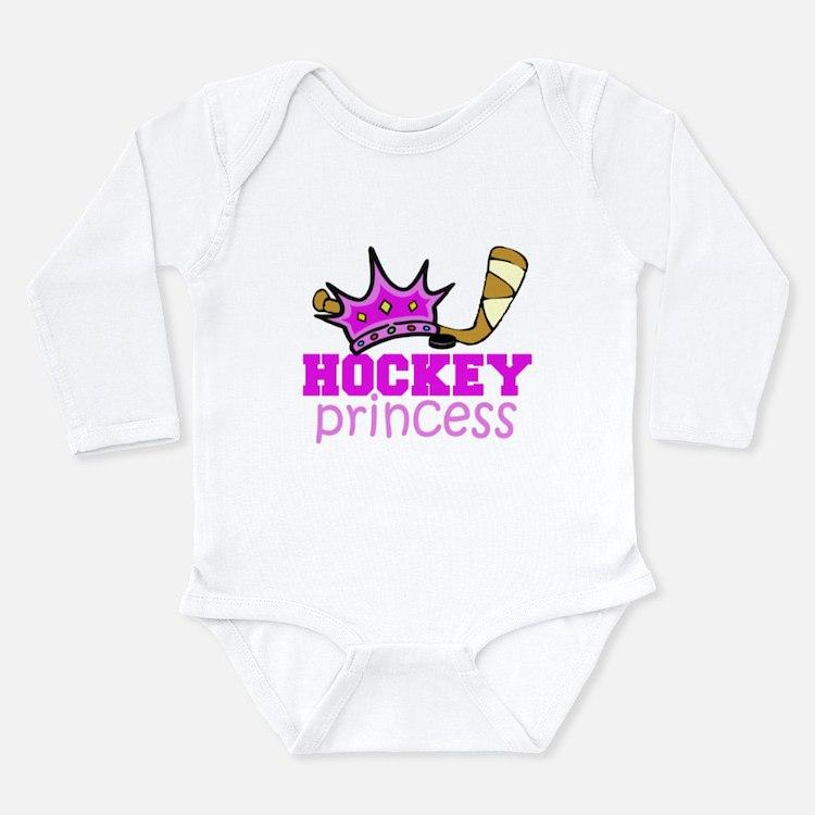 hockey princess girl Body Suit