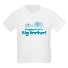 Im going to be a Big Brother Blue Elephant T-Shirt