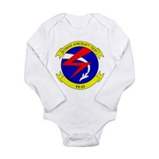 Cute Strike aircraft test Long Sleeve Infant Bodysuit