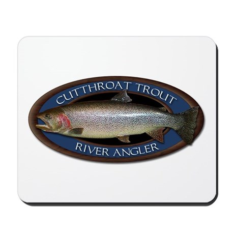 Cutthroat Trout Mousepad