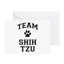 Team Shih Tzu Greeting Cards (Pk of 10)