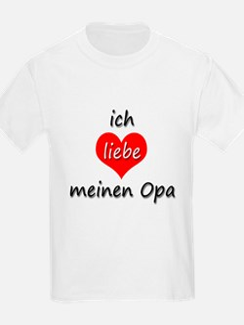 ich liebe meinen Opa I love my grandpa in German K