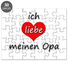 ich liebe meinen Opa I love my grandpa in German P