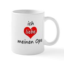 ich liebe meinen Opa I love my grandpa in German M