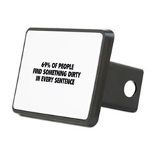 Dirty Sentence Hitch Cover