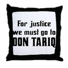 Don Tariq Throw Pillow