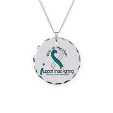 With All My Heart Cervical Cancer Necklace
