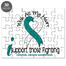 With All My Heart Cervical Cancer Puzzle