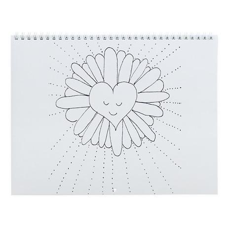 Smiling Heart Garden of Delights Wall Calendar