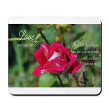 Love One Another Mousepad