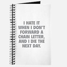 Forward A Chain Letter Journal
