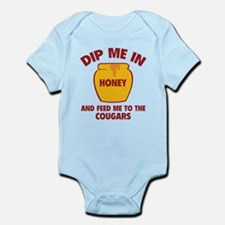 Feed Me To The Cougars Infant Bodysuit