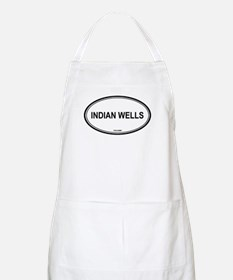 Indian Wells oval BBQ Apron