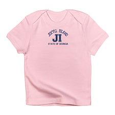 Jekyll Island - Varsity Design. Infant T-Shirt