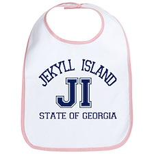 Jekyll Island - Varsity Design. Bib