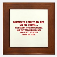 Delete An App Framed Tile