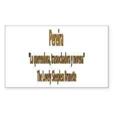 Pereira frases colombianas Rectangle Decal